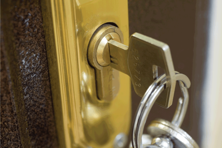 brass home lock and key close up photo. Can You Make A Key From A Lock