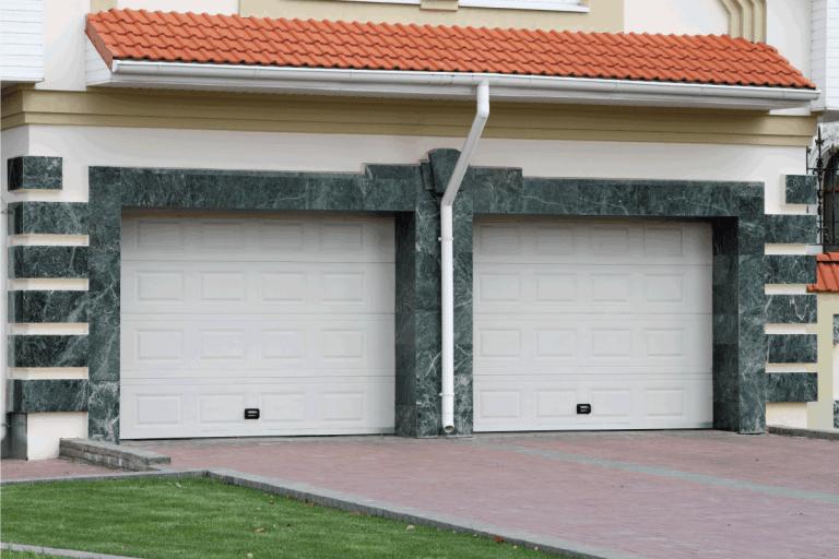 fiberglass Garage door for 2 cars. How to Clean Your Fiberglass Garage Doors