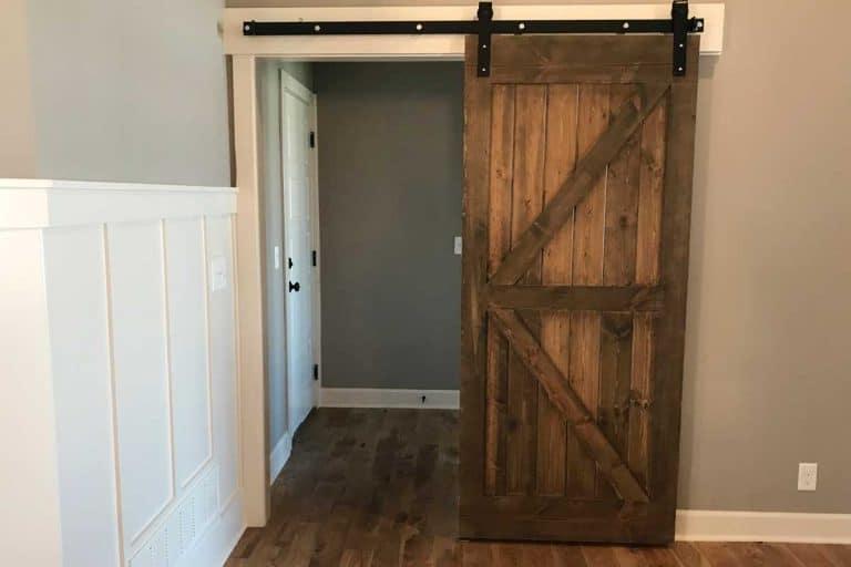 Barn door inside a home, 5 Barn Door Alternatives