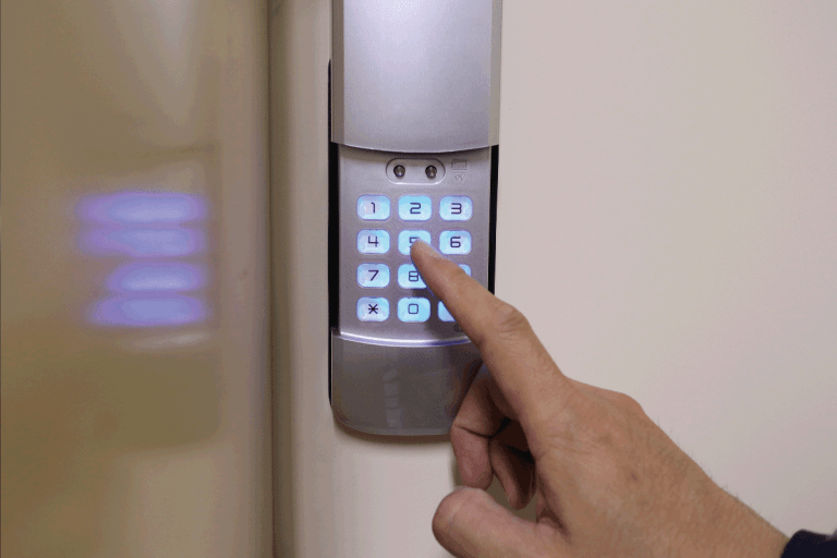 Security System Door Locks with keypad. Can You Put A Keypad Lock On A Sliding Door