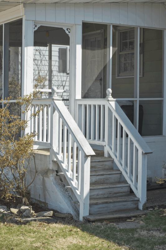 back porch with screened door. Do Screen Doors Need Frames