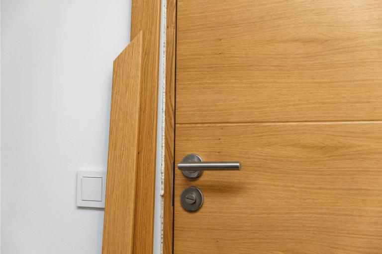 oak wood door installation, How To Fix A Hole In An Oak Door